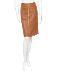 Leather skirt medium 98642