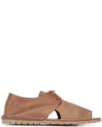 Marsèll Open Toe Lace Up Sandals