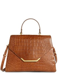 Brooks Brothers Medium Exotic Embossed Satchel