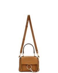 Chloé Brown Mini Faye Day Bag