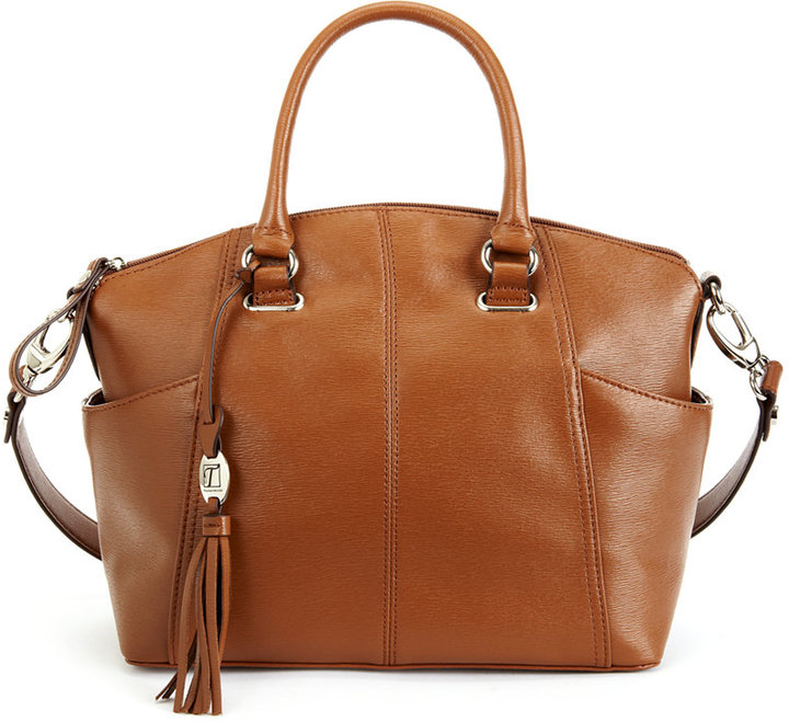 Tignanello Handbag Sophisticate Leather Convertible Satchel