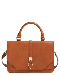 Sole Society Vegan Leather Crossbody Satchel