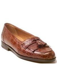 Mezlan Rodeo Tan Tassel Loafers