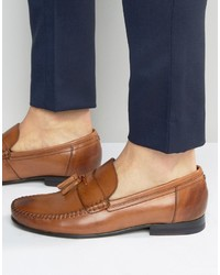 Ted Baker Simbaa Leather Tassel Loafers