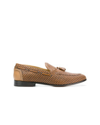 BRIMARTS Woven Tassel Loafers