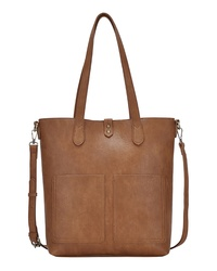 ANTIK KRAFT Faux Leather Carry All Tote