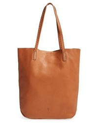 Naomi leather tote orange medium 3683841