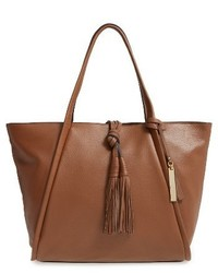 Vince Camuto Taro Leather Tote Brown