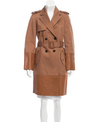 Tod's Double Breasted Trench Coat