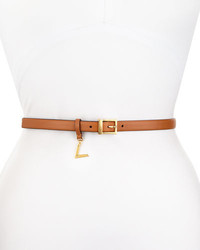 Tobacco Leather Waist Belt