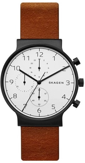 b0ba0ad0e Skagen Ancher Chronograph Leather Strap Watch 40mm, $195 | Nordstrom ...