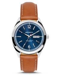 Jack Mason Canton Leather Watch