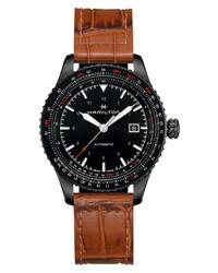 Hamilton Khaki Aviation Converter Leather Watch