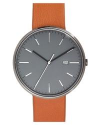 Uniform Wares M Line Leather Watch