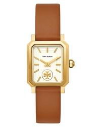 Tory Burch Robinson Leather Watch