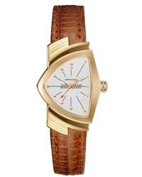 Hamilton Ventura Leather Strap Watch 24mm X 365mm