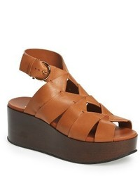 Salvatore Ferragamo Eugenia Wedge Sandal