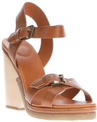 Marc by Marc Jacobs Multi Buckle Wedge Sandal