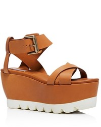 See by Chloe See By Chlo Tiny Wedge Platform Sandals