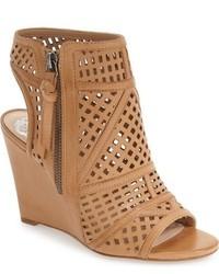 Xabrina perforated wedge sandal medium 757049