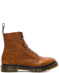 Tobacco Leather Work Boots