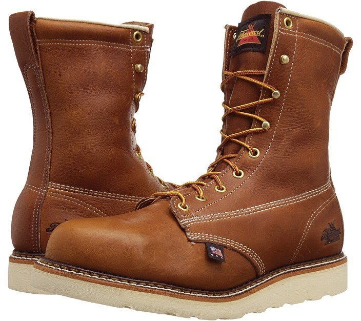 top-rated fashion low priced structural disablities $228, Thorogood American Heritage 8 Steel Toe Wedge Work Boots