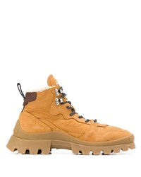 DSQUARED2 Shearling Lined Hiking Boots