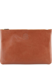 Large leather docut pouch brown medium 318523