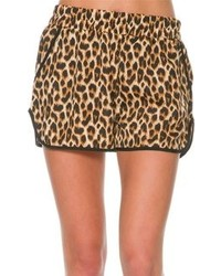 Swell Meow Leopard Short