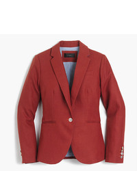 Petite campbell blazer in linen medium 3674205