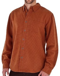 Tobacco Long Sleeve Shirt