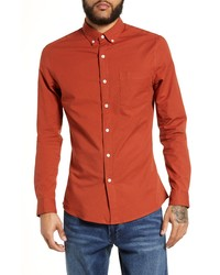Topman Classic Fit Oxford Shirt