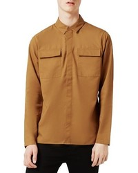 Topman Military Shirt