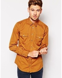 Boss Orange Shirt With 2 Pockets