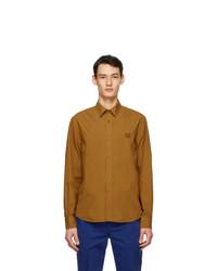 Kenzo Tan Tiger Crest Shirt