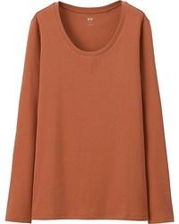 Supima cotton crewneck long sleeve t shirt medium 3737766