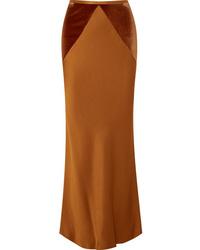 Haider Ackermann Ed Satin Maxi Skirt