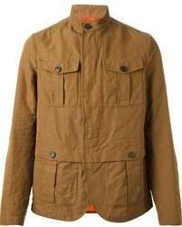 Tobacco Military Jacket