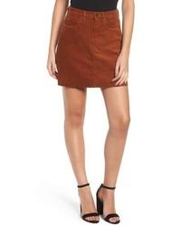 BLANKNYC Corduroy A Line Miniskirt
