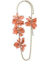Lanvin Gina Flowers Necklace