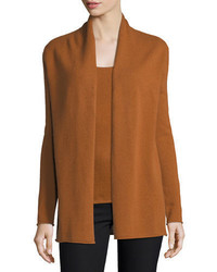 Cashmere collection classic draped cashmere cardigan medium 4156628