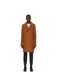 Rick Owens Brown Soft Coat