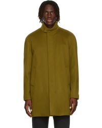 Loro Piana Green Cashmere Turati Coat