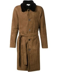 Melindagloss Shearling Overcoat