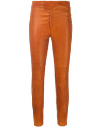 Isabel Marant Slim Fit Cropped Trousers