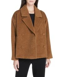 Eileen Fisher Wool Alpaca Blend Short Jacket