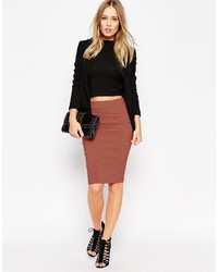 Asos Collection High Waisted Pencil Skirt