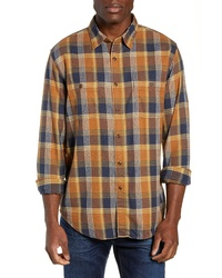 J.Crew Slim Fit Plaid Flannel Shirt