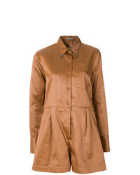 Bottega Veneta Work Wear Playsuit
