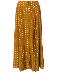 Diane von Furstenberg Polka Dot Full Skirt